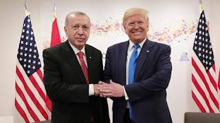 ترامب يشكر أردوغان لجهود بلاده في إنقاذ الوضع الإنساني بإدلب السورية