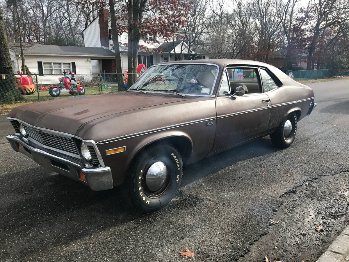 Daily Turismo: Rusty Star: 1971 Chevrolet Nova 454 V8