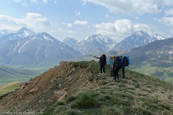 На фоне Тфана, Курведага и БазарЮрта