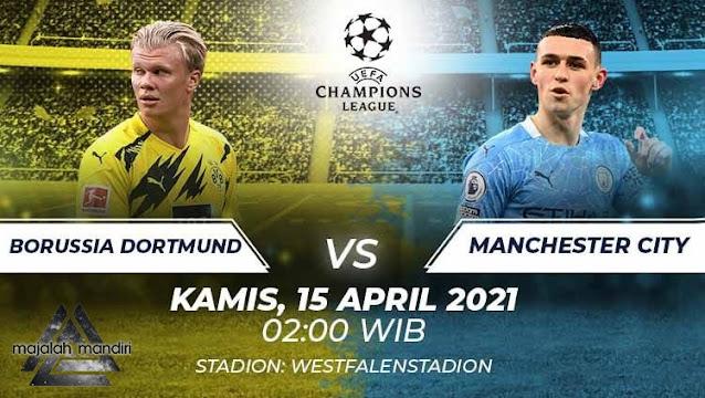 Prediksi Borrusia Dortmund Vs Manchester City