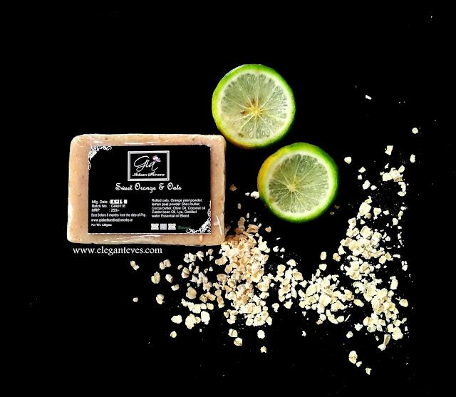 Gia Bath & Body Works Sweet Orange and Oats Soap Bar