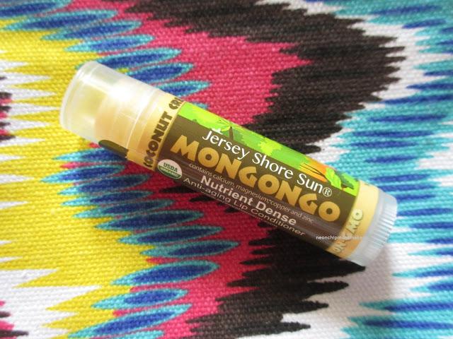 Jersey Shore Sun Vanilla Coconut Cream Mongongo Lip Balm