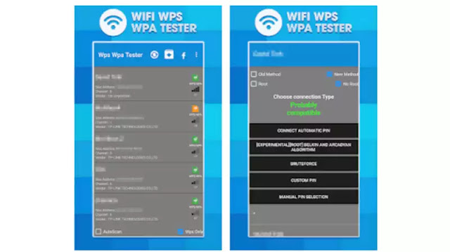 WPS WPA Wifi Test technotesarabic.com
