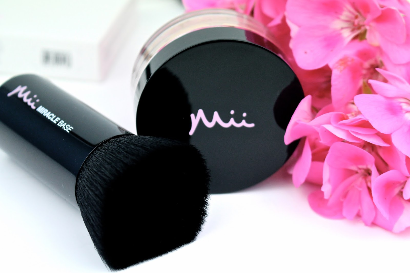 Miracle Base brush and foundation by Mii Cosmetics