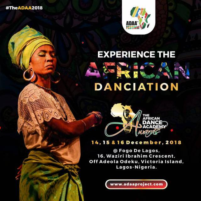 [Event]: (ADAA 2018) African Dance Academy Award Set To Hold This December