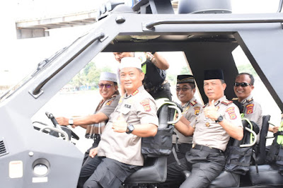 Awal Tahun 2020, Kapolda Jambi Bersama Kapolresta Jambi Laksanakan Jumling Polda Jambi