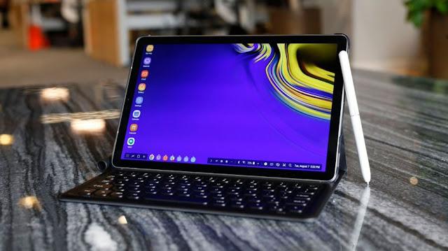 إرسال تحديث الاندرويد 10 للتابلت Galaxy Tab S4