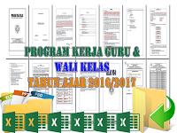 Download Contoh File Program Kerja Guru dan Wali kelas 2016/2017