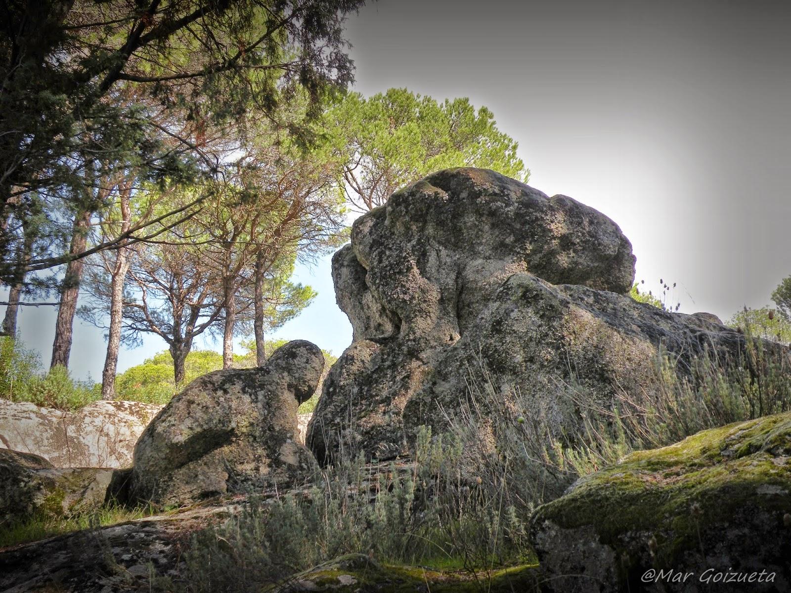 El Arrodillado de piedra. Foto Mar Goizueta