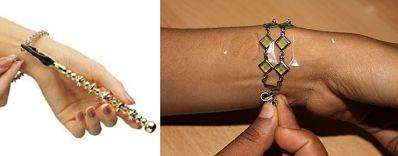Soluciones para abrocharse una pulsera sola
