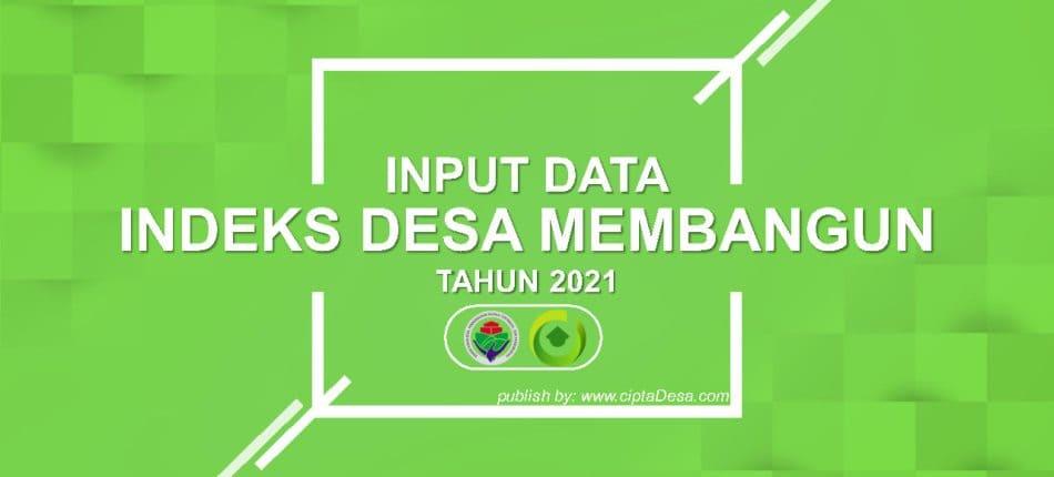 Tutorial Isian Data IDM Tahun 2021