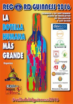 Cartel Record Guinness 2016 Ferias y Fiestas Valladolid