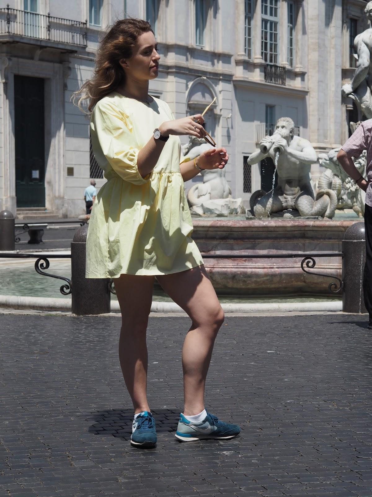 E.K.W. Girl in Yellow Dress