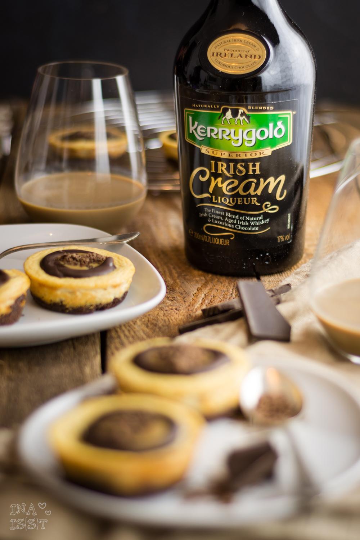 Kerrygold Irish Cream Liqueur Cheesecakes; Käsekuchen; Weihnachten; Blog, Foodblog; Weihnachtskuchen; Weihnachtsdessert