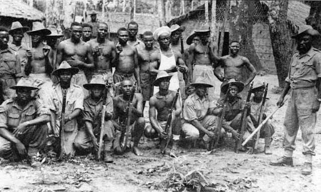 African Soldiers in Burma