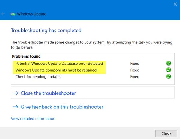 Windows Update Troubleshooter dari Microsoft