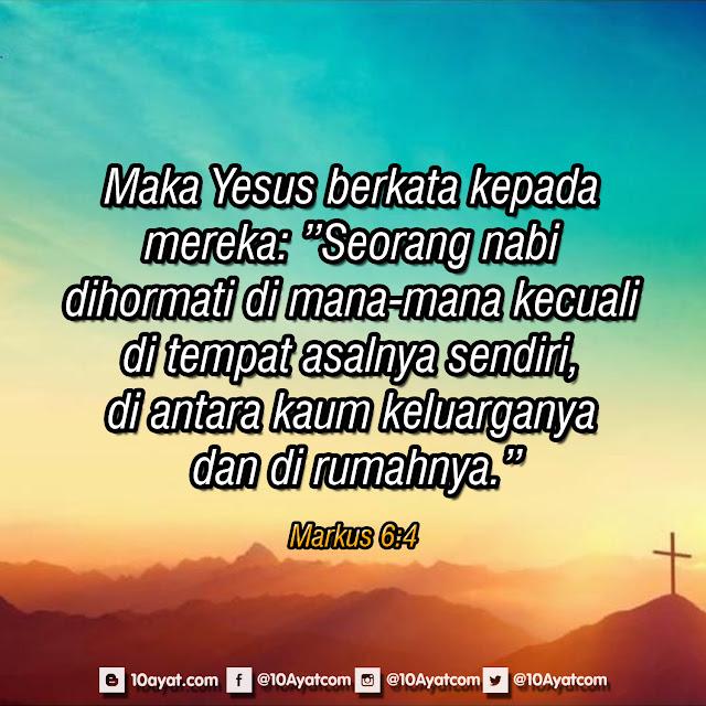 Markus 6:4