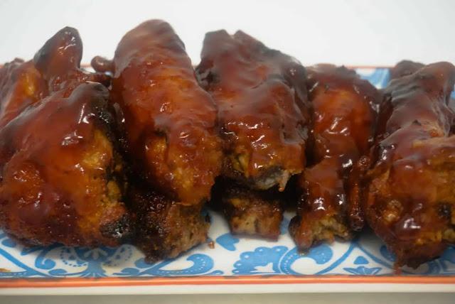 Air Fryer BBQ Chicken Wings