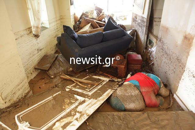 6 συνολικά τα θύματα από την θεομηνία στην Εύβοια