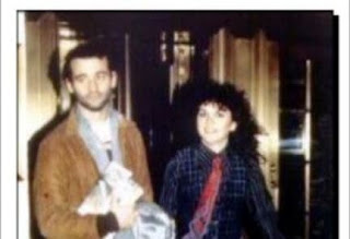 An Old Photograph Of Bill Murray With Linda Ronstadt