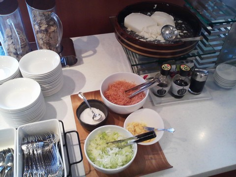 ビュッフェコーナー:豆腐 札幌東急REIホテル サウスウエスト