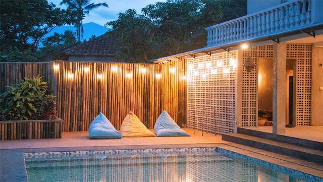 Menentukan desain dan konsep villa