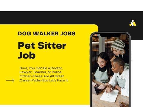 Get Pet Sitter Jobs