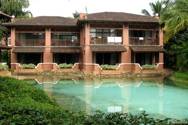 Hotellihuoneita Park Hyatt -hotellissa Etelä-Goassa Intiassa