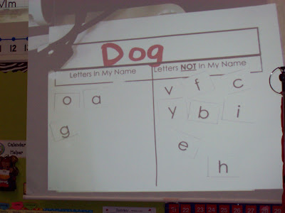 Chalk Talk: A Kindergarten Blog: Sorting Letters
