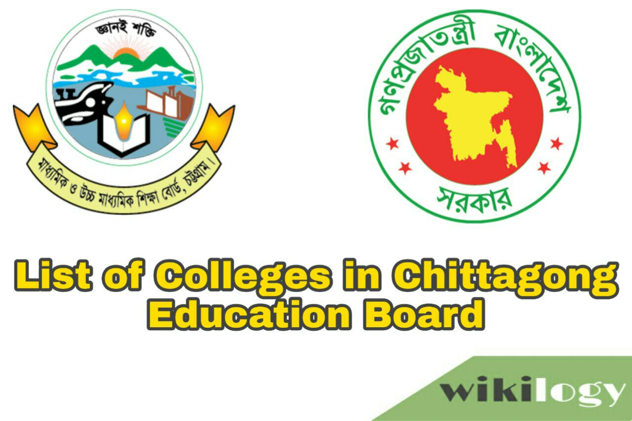 List of College in Chittagong (Chattogram) Board with EIIN