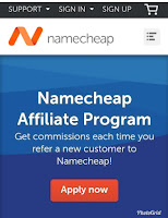 Namecheap affiliate program sign up