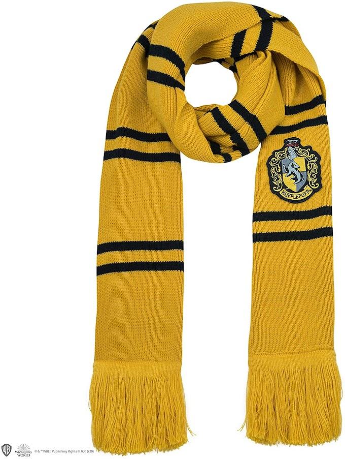 Prepárate para el frío con esta estupenda bufanda de Harry Potter.
