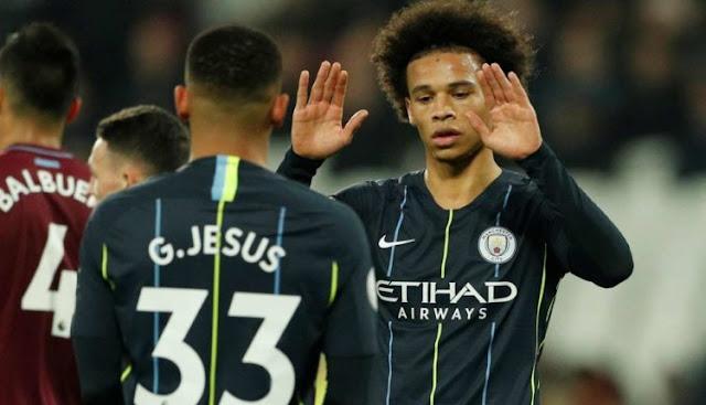 """""""Manchester City Hanya Beruntung Kalahkan West Ham"""""""