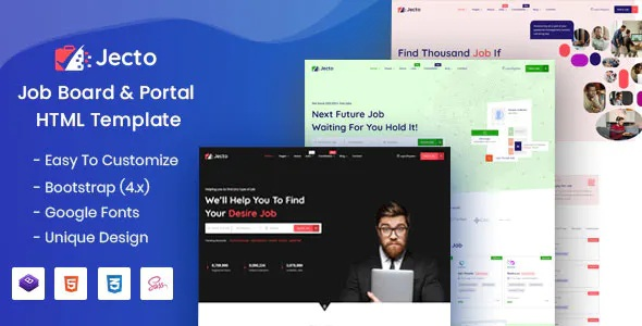 Best Job Board HTML Template
