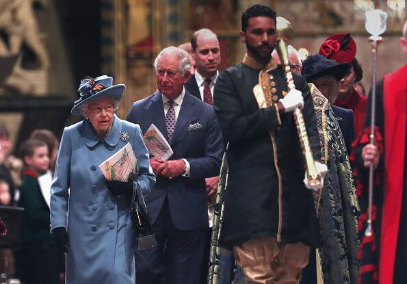 Kate Middleton, Meghan Markle, Countess of Wessex. Emilia Wickstead, Gabriela Hearst, Catherine Walker coat