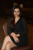 Kyra Dutta in black At Rogue Movie Audio Launch ~  035.JPG