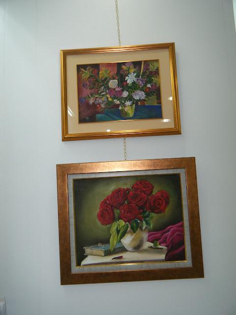 Les peintures de mes élèves à l'expo 14