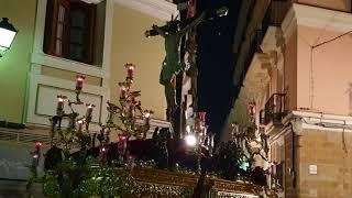 Santísimo Cristo de la Expiración por la Calle Valverde. Semana Santa Cádiz 2019
