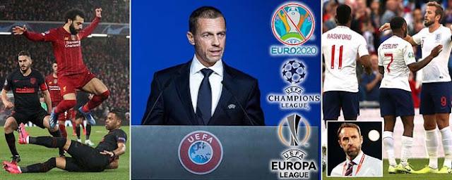 UEFA dời VCK EURO sang năm 2021, Champions League hoãn vô thời hạn 2