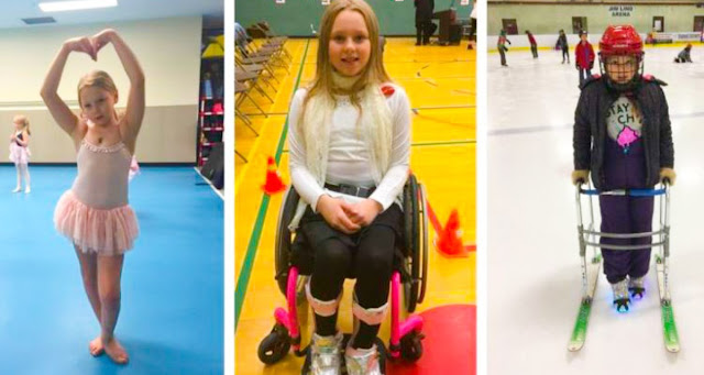 Такая маленькая, но такая сильная: вопреки неутешительным прогнозам врачей парализованная девочка все же научилась танцевать