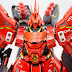 Custom Build: MG 1/100 MSN-04 Sazabi Ver. Ka + Garage Kit Conversion