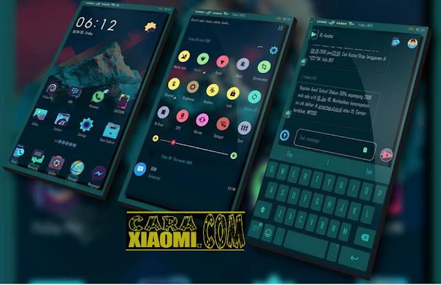 Theme Xiaomi The Shecionk NY Mtz Tema Untuk MIUI Terbaru