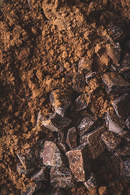chocolate macro photography