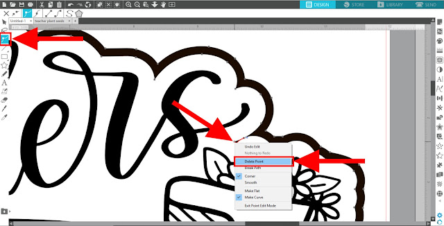 silhouette studio, svg designs, offset tool, point editing, studio v4