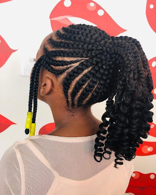 2020 Cute Braided Hairstyles for Pretty Kids