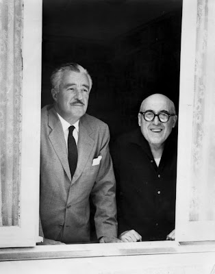 Vittorio De Sica and Cesare Zavattini
