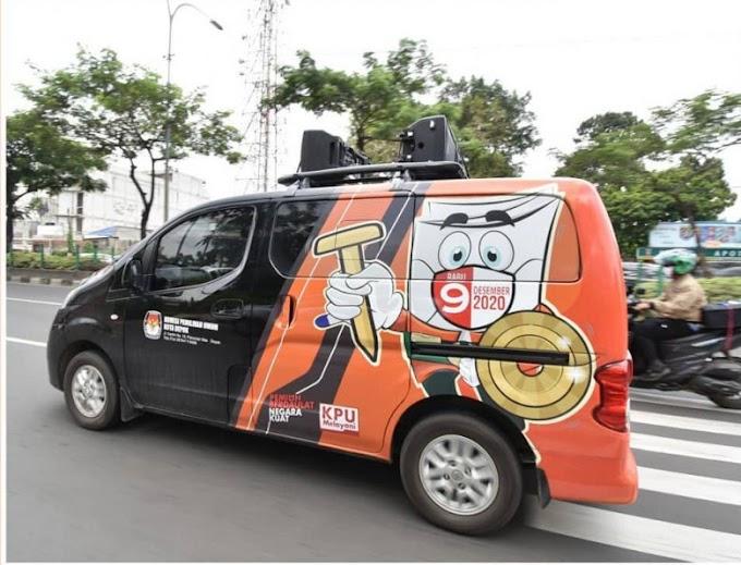Tim Woro Woro KPU Keliling Wilayah Sosialisasikan Pilkada