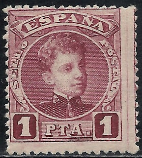 Spain 1901 Alfonso XIII of Spain 1 peseta