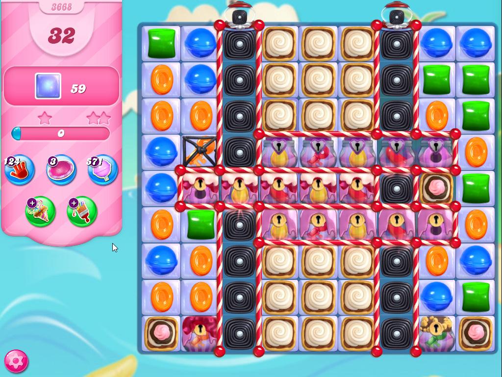 Candy Crush Saga level 3668