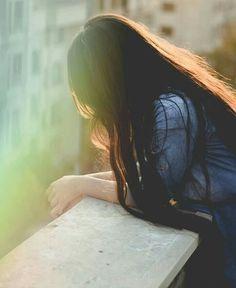 sad emotional girl